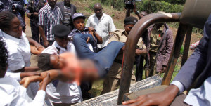 On October 10, police manhandled and in the process undressed Fatuma Zainab Naigaga, who was part of the crew that was accompanying former FDC president and presidential aspirant Dr Kizza Besigye. PHOTO | ABUBAKER LUBOWA | DAILY MONITOR  By Monitor Reporter